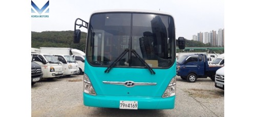 CITY PASSENGERS BUS HYUNDAI GLOBAL 900 DIESEL 6.0L 2012/06 YEAR